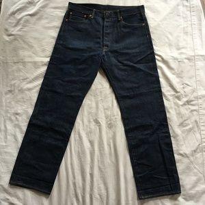 Levis 501 Blue Jeans W35